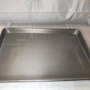 Cook's Essentials Coated Perforated Crisping Pan